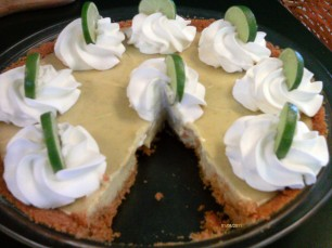 Key Lime Pie-slice missing