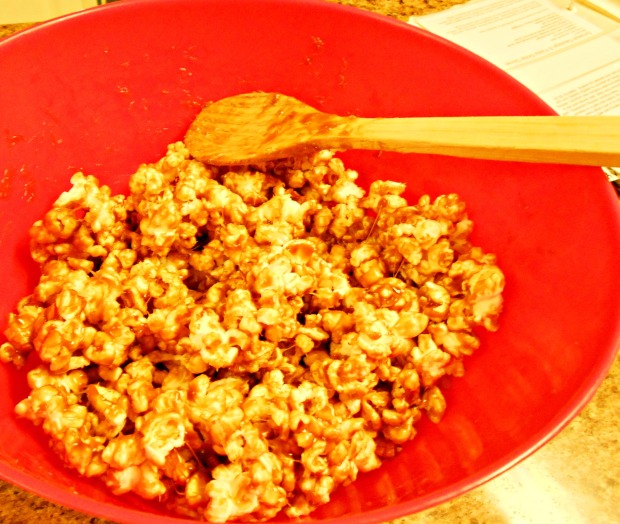Biscoff Glazed Popcorn Bowl