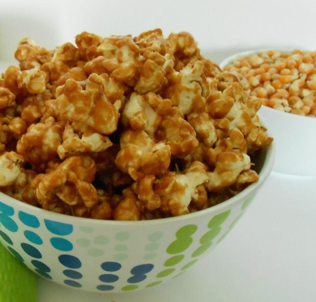 Biscoff Glazed Popcorn I