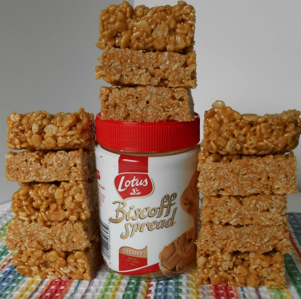 Biscoff Rice Krispie Bars 2
