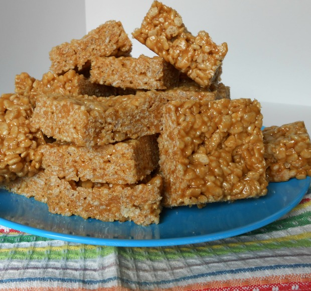 Biscoff Rice Krispie Bars I