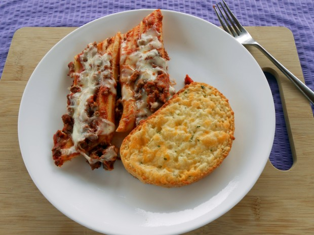 Easy to Stuff Manicotti Dinner